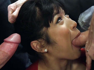 Asian black gangbang