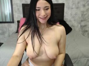 Asian pierced nipples