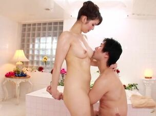 Asian massage handjob video