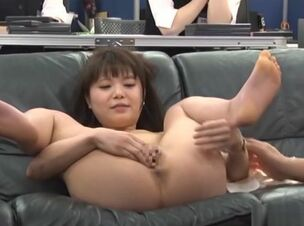 Public asian blowjob